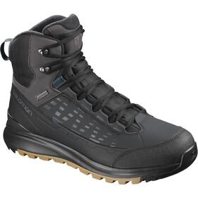 Salomon Kaïpo Mid GTX Shoes Herren black/phantom/poseidon